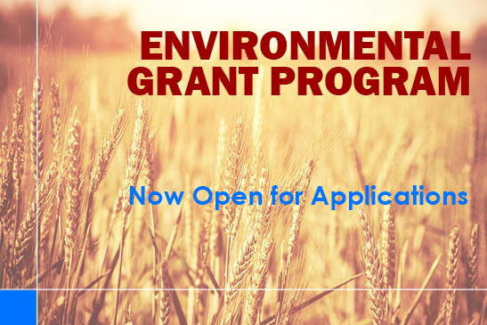 Environmental Grant Program now open